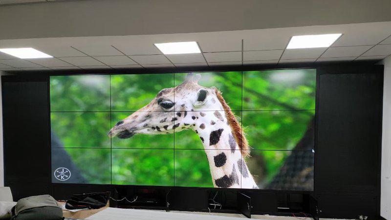 高清液晶拼接屏监控室能显示出4K效果吗