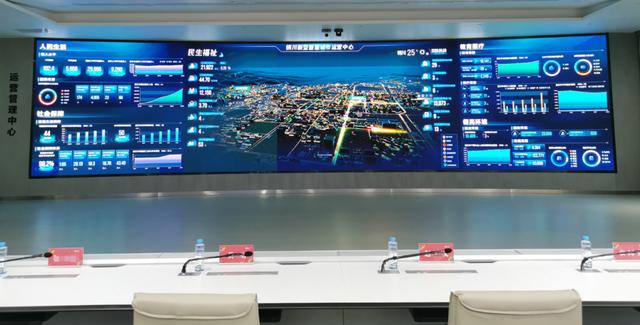 液晶拼接屏对于智慧城市的作用