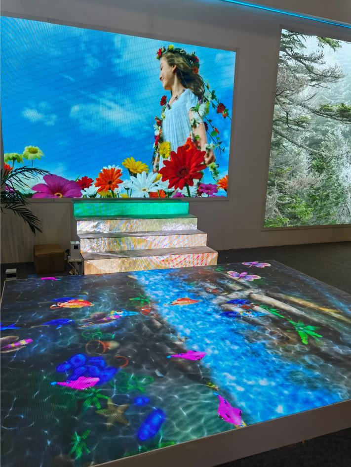 地砖屏和普通LED显示屏原理及应用区别