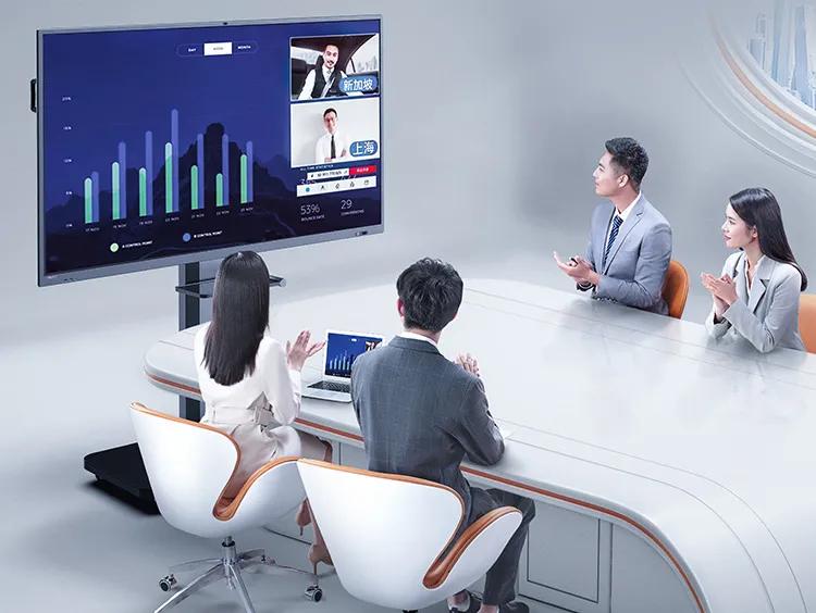 对比传统电子白板,皓丽会议平板更具优势