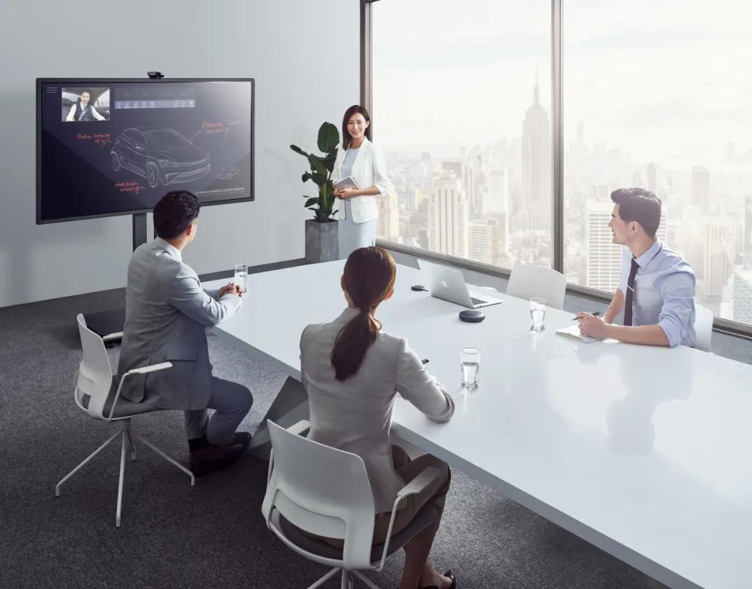 会议平板多功能一体助力企业防控疫情