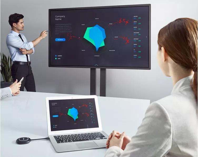 皓丽无线同屏器带来更便捷的会议体验