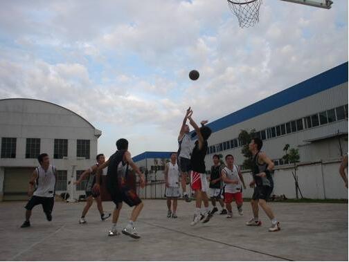 河南豫鼓风机公司篮球赛事