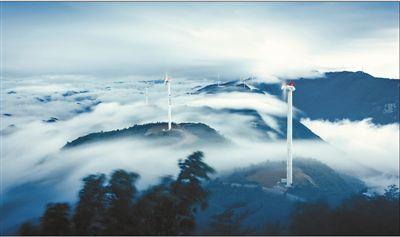河南真空泵厂家告诉你风机立青山 发电云海间
