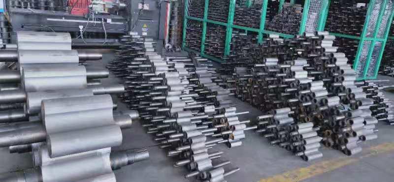 河南豫鼓风机生产、加工罗茨风机车间现场