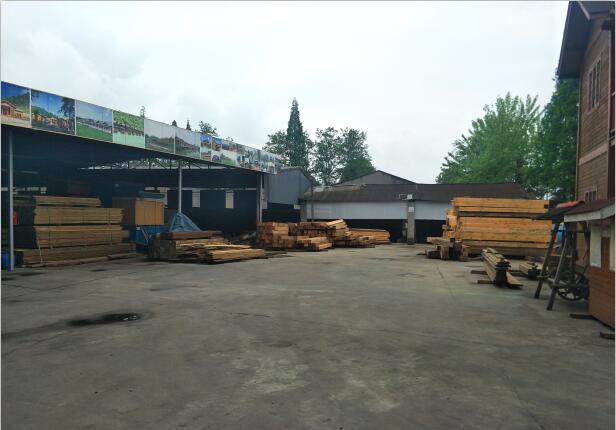 重慶防腐木廠區環境
