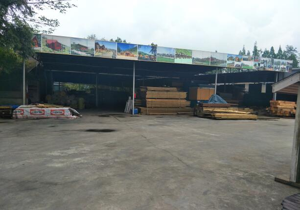 重慶木屋定製材料生產廠區環境
