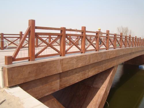 重庆木栏杆