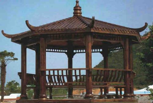重庆木凉亭