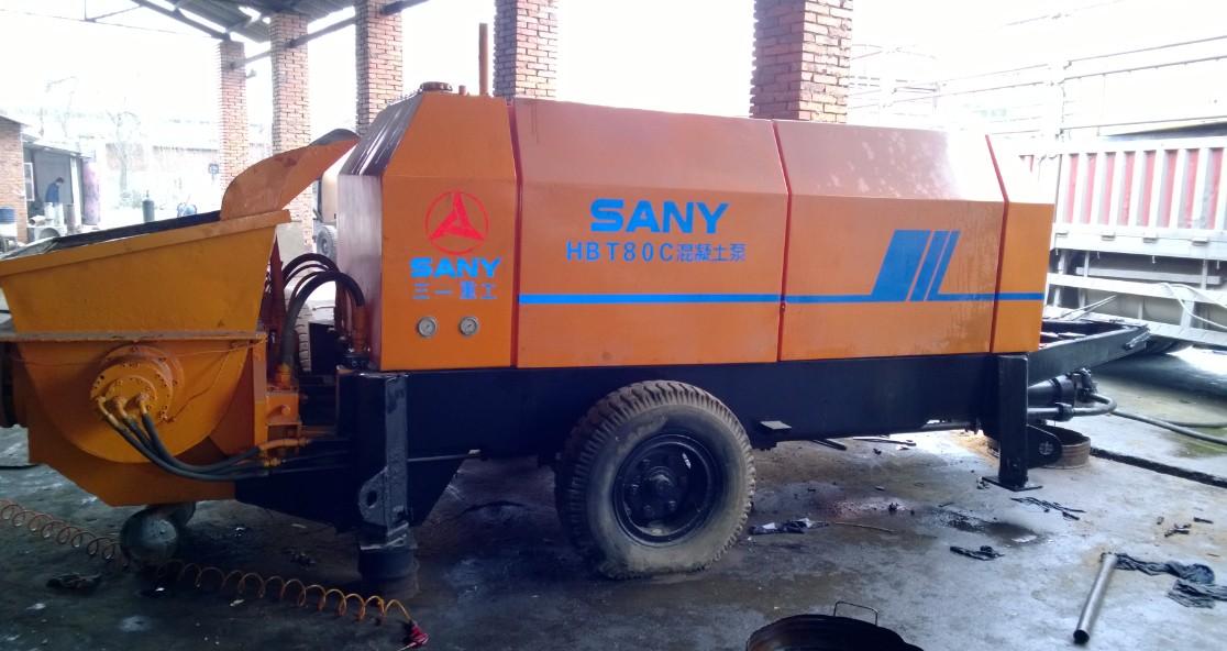 三一混凝土输送泵HBT1816型