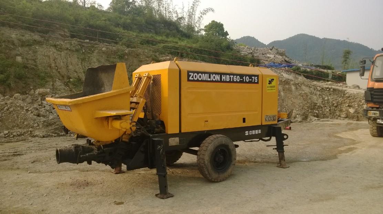 HBT60-10-75Z混凝土输送泵租赁
