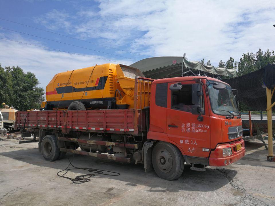混泥土输送泵_工程施工拖泵
