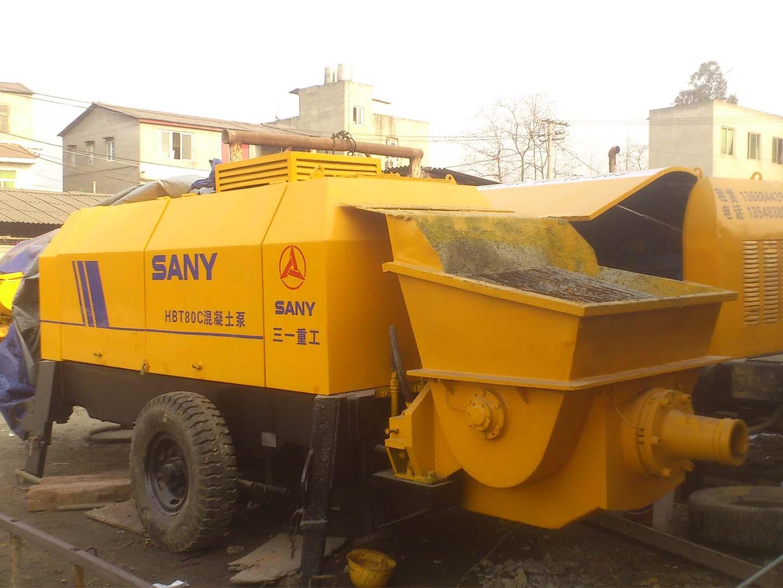 混泥土输送泵_成都工程机械设备租赁_混泥土输送泵成本