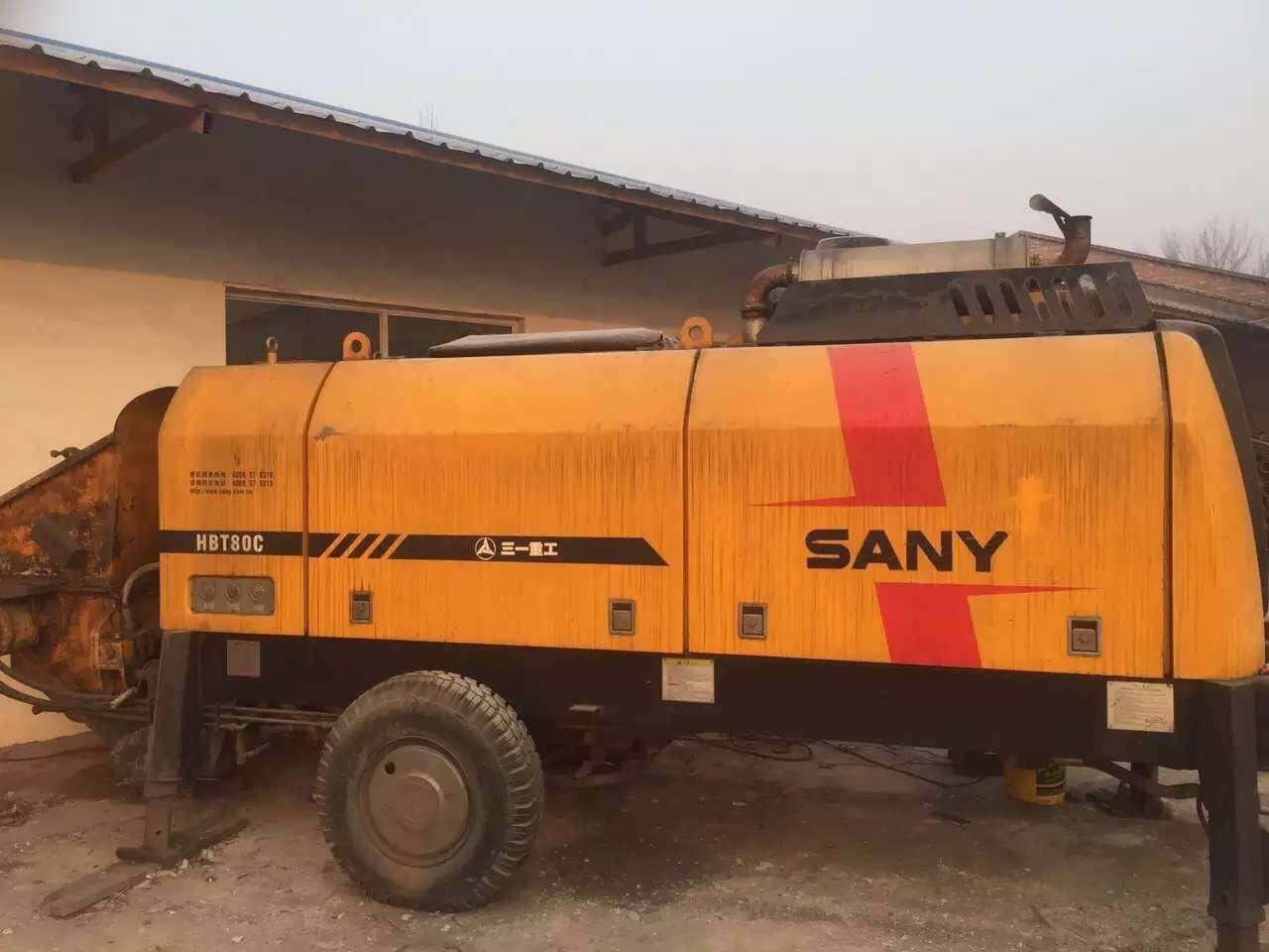 三一柴油混凝土输送泵HBT8018