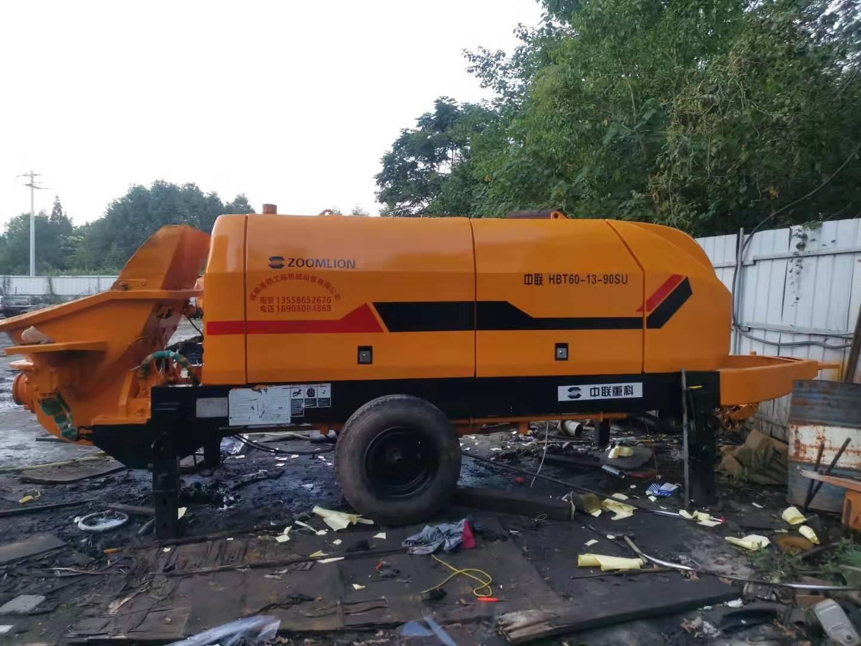 二手中联重科8016-110SU拖泵销售