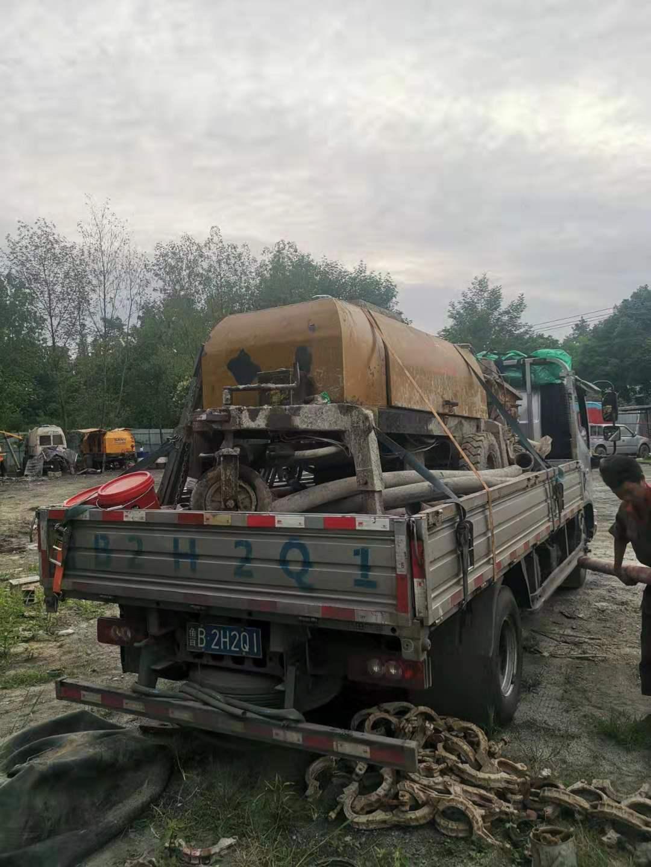 4010细石拖泵贵州40层细石泵送施工装车