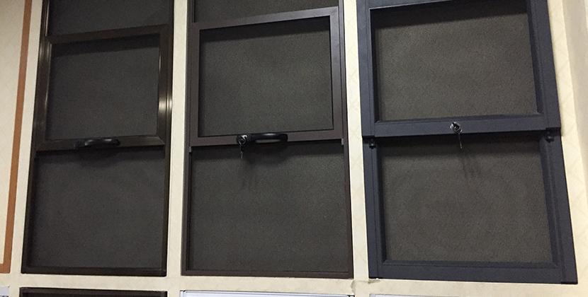 二合一門窗案例