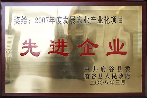 环渤海荣获**企业荣誉