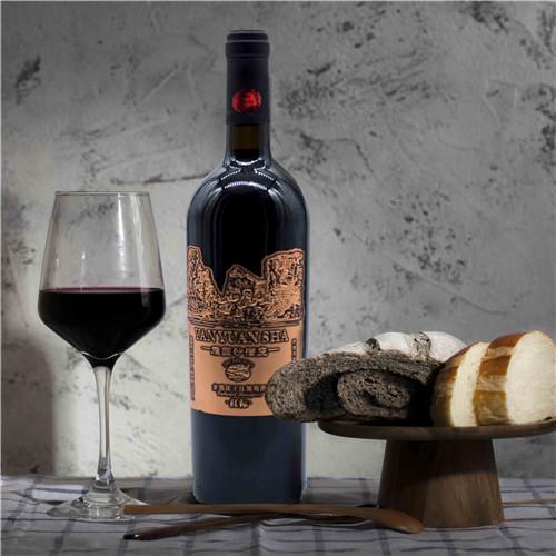 圆沙红标干红葡萄酒