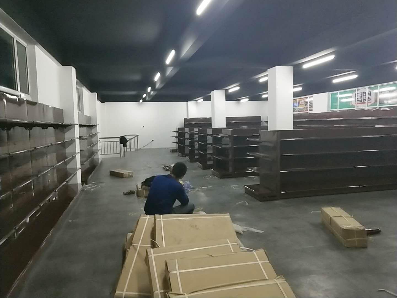 锦美汇与乐百连锁超市合内蒙古超市货架