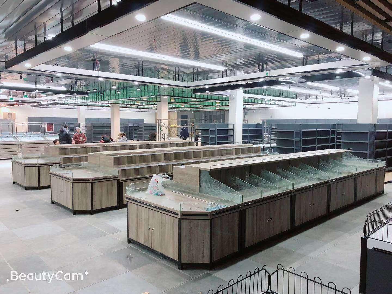 内蒙古超市货架案例
