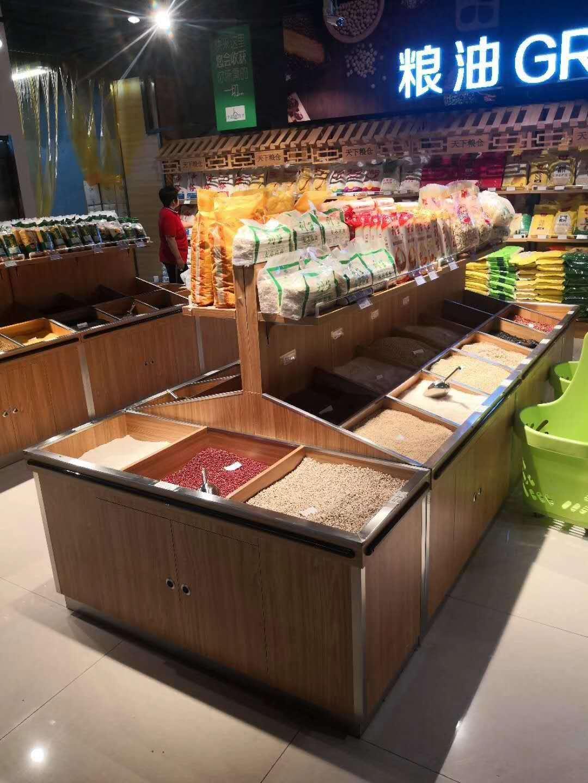 内蒙古超市货架和天下粮仓合作