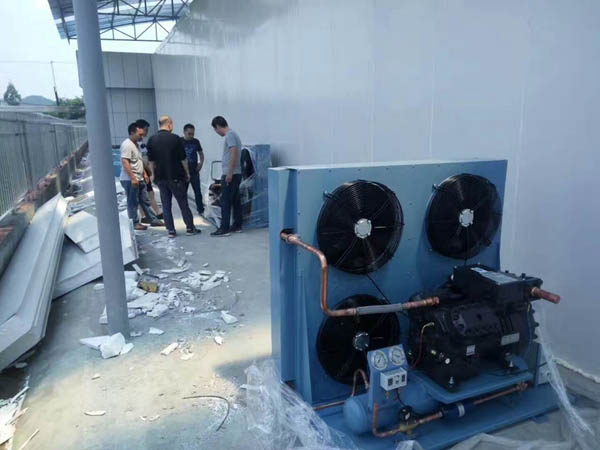 四川冷库设备-敞开式安装