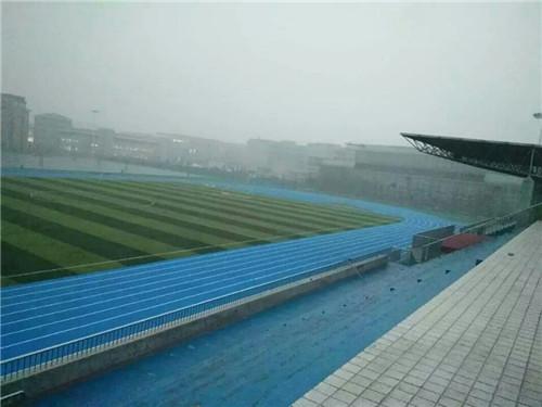 河南塑膠跑道與河南司法警官干部學院工程案例