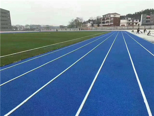 河南塑膠跑道廠家與赤壁中小學實踐基地透氣型跑道成功案例