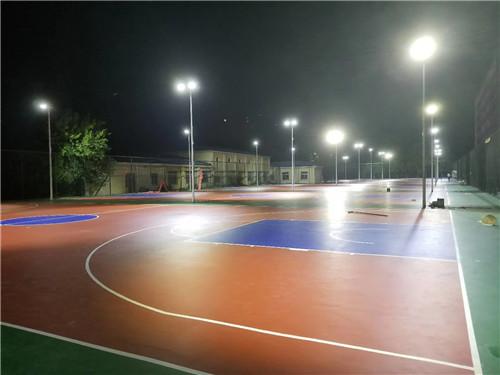 河南篮球足球跑道