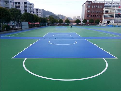 黔江旅游職業學院5600方籃球