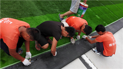 河南人工草坪施工