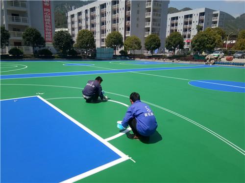 河南硅PU球场材料工程