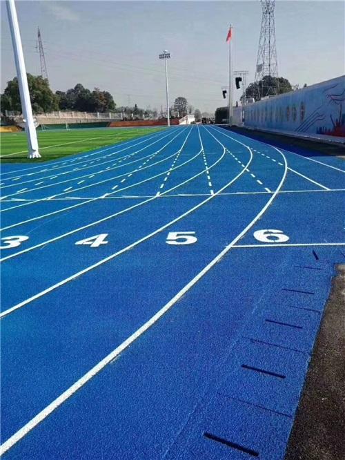 河南塑胶跑道复合型跑道施工
