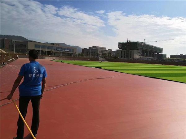 塑膠跑道施工-江蘇大學案例展示