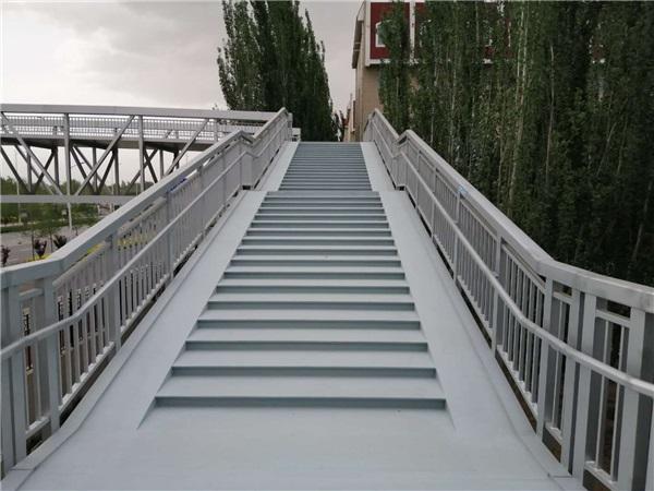 天橋硅PU-寧夏銀川鋁合金天橋做硅PU