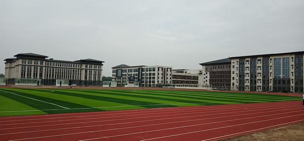 许昌商专人造草坪和塑胶跑道标场
