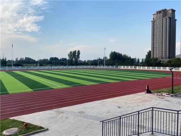 硅PU球场-平原一中第 一初级中学操场