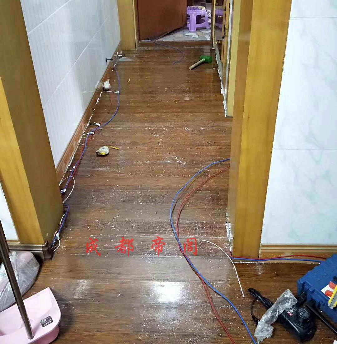 成都旧房加装地暖案例