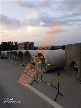 某高速公路路边疏水采用蜀通水泥制品公司的方井和水泥管