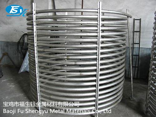 钛盘管,钛双层盘管设备