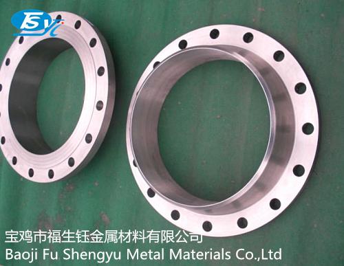 宝鸡市福生钰金属材料公司是一家有实力的钛法兰厂家!