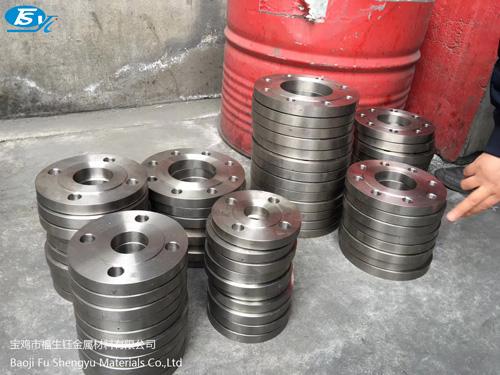 钛合金金属材料加工车间!