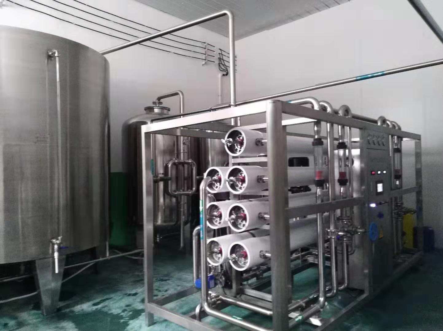 在水处理设备方面的合作