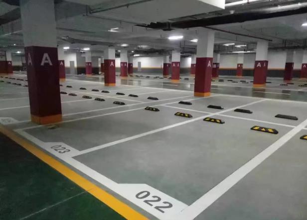 与某大型开发商就小区的地下车库中的道路yabovip2施工取得合作