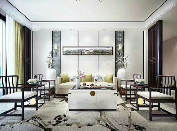 万景荔枝湾121平户型是典型的三室两厅