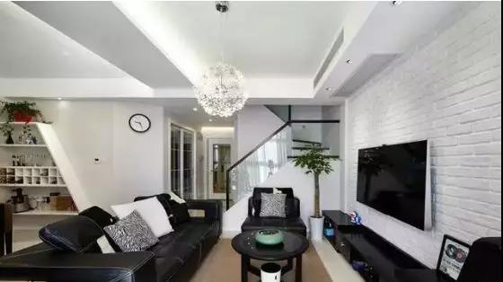 120㎡复式新房,电视墙一直被邻居们模仿!