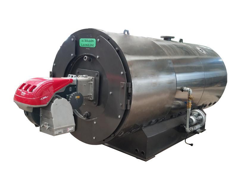 超低氮常压卧式燃气热水锅炉