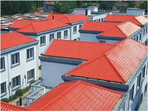 接受重任—陕西树脂瓦安装工程