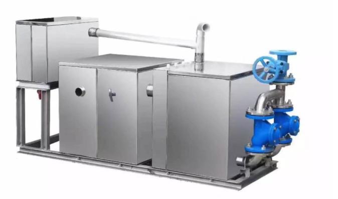 曲源污水提升设备安装